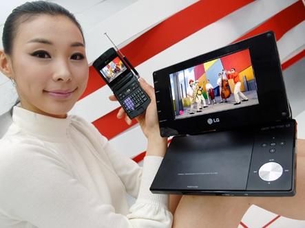 LG DP570MH Mobile Digital TV