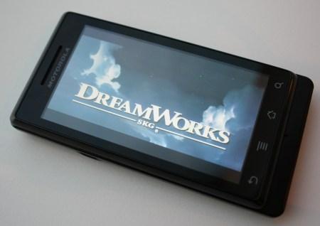 Motorola Milestone Hong Kong Version HD video playback