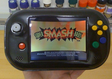 N64Mini - smallest N64 portable ever made