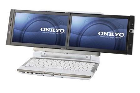 Onkyo DX1007A5 Dual Screen Notebook