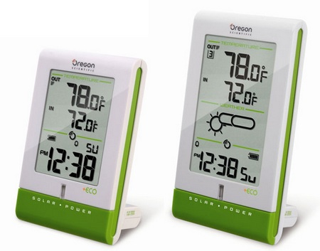 Oregon Scientific +ECO Solar Weather Clock and Weather Station