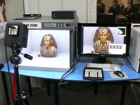 PapaLaB YC-3300 Industrial Digital Camera Sees same colors as Human Eyes