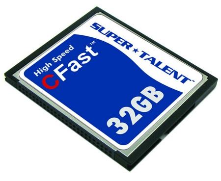 Super Talent CFast High-Speed CF card