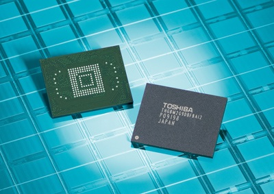 Toshiba 64GB NAND Flash Memory Modules