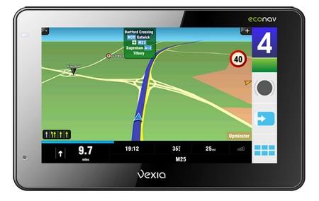 Vexia Econav 380 and 480 GPS Devices