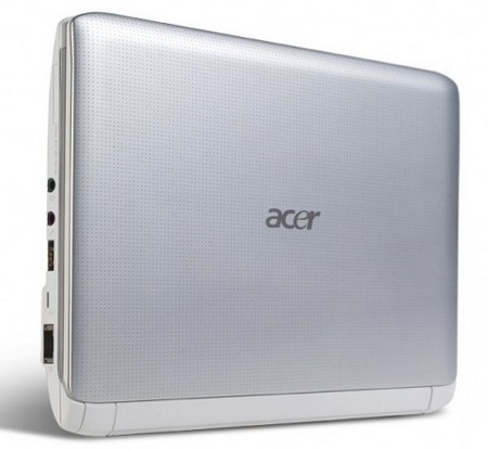 Acer Aspire One AO532h Pine Trail Netbook Silver Matrix