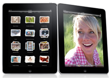 Apple iPad Tablet Device Gallery app
