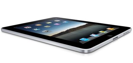 Apple iPad Tablet Device angle