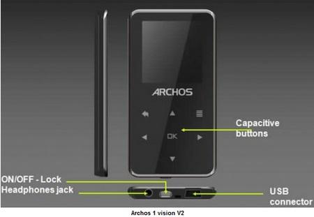 Archos 1 Vision V2 Slim