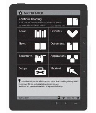 Asus DR-950 e-book reader