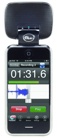 Blue Microphones Mikey Portable Recorder for iPhone and iPod