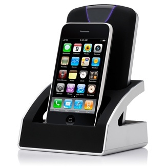 Buffalo Dualie Hard Drive iPhone Dock