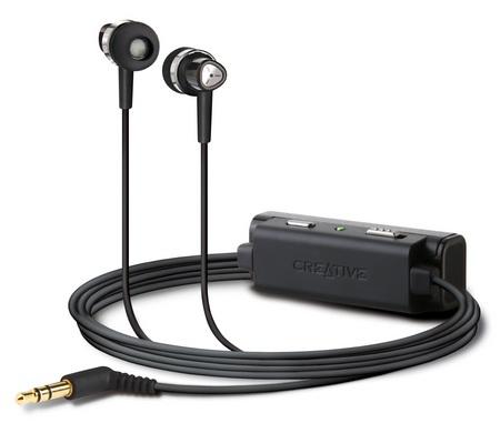 Creative EP-3NC Noise-Canceling Earphones