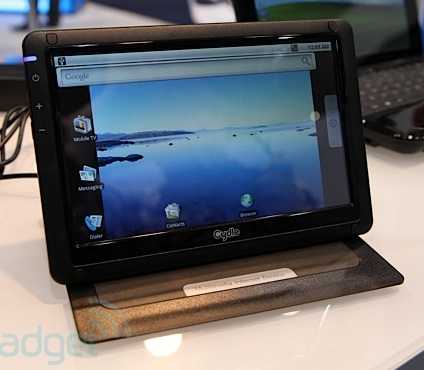 Cydle M7 Android Tablet with TV Tuner