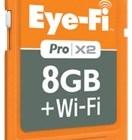 Eye-Fi Pro X2 8GB SDHC Card with 802.11n