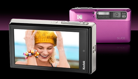 Kodak SLICE Touchscreen Camera Pink