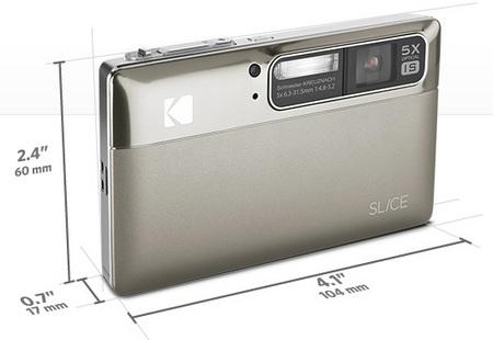 Kodak SLICE Touchscreen Camera Silver