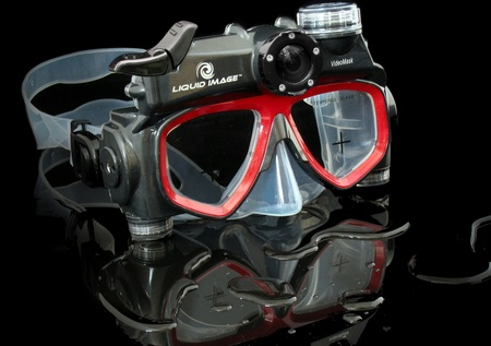 Liquid Image Wide Angle VideoMask 312 Underwater Camera Mask