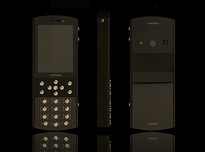 Mobiado Classic 712ZAF Luxury Phone Black Satin