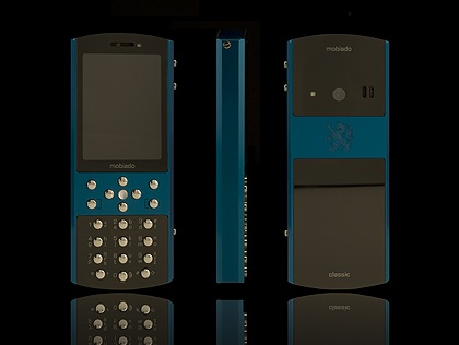 Mobiado Classic 712ZAF Luxury Phone Blue