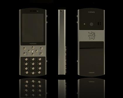 Mobiado Classic 712ZAF Luxury Phone Grey