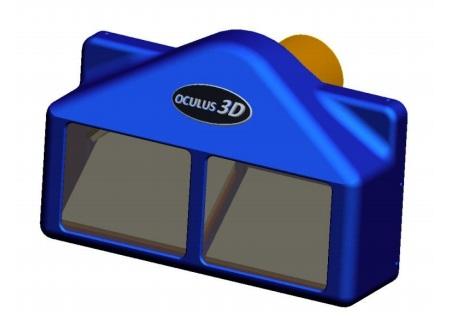 Oculus3D OculR Attachment turns 35mm Projector into 3D Projector