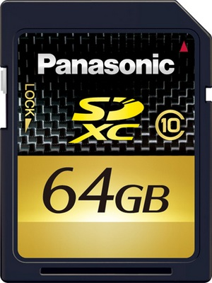 Panasonic 64GB and 48GB Available in February 2010