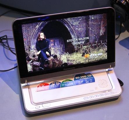 Panasonic DMP-B100 Portable Blu-ray Player