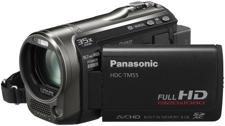 Panasonic HDC-TM55 Full HD Camcorder