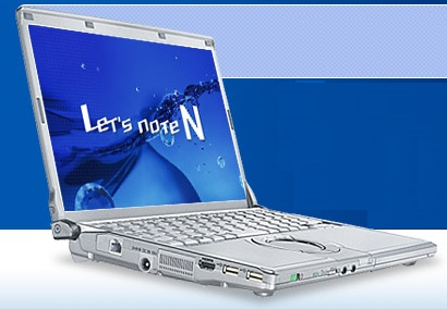 Panasonic Let's Note CF-N9 Ultra portable notebook