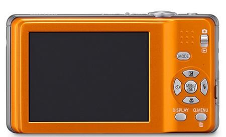 Panasonic Lumix DMC-FS10 and DMC-FS11 Slim DigiCams back
