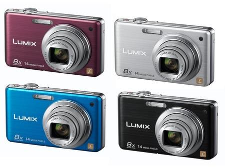 Panasonic Lumix DMC-FS30 Digital Camera colors
