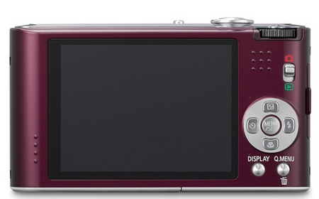 Panasonic Lumix DMC-FX66 Digital Camera back