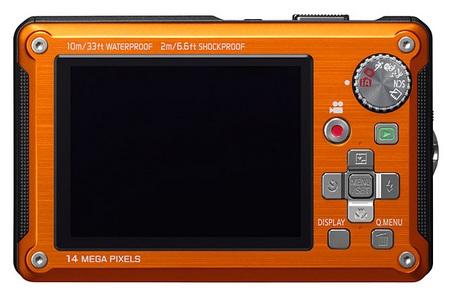 Panasonic Lumix DMC-TS2 Rugged Digital Camera back