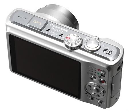 Panasonic Lumix DMC-ZS7 Digital Camera geotagging Back