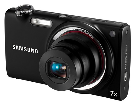 Samsung CL80 Stylish Camera with AMOLED Display and WiFi front