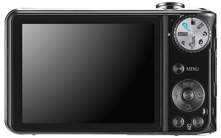 Samsung DualView TL210 and TL205 Dual LCD Cameras Back