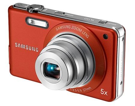 Samsung TL110 and TL105 Ultra Slim Digital Cameras front