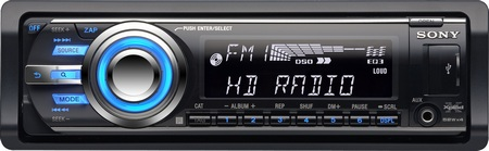 Sony CDX-GT700HD car stereo HD Radio