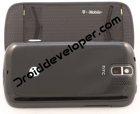 T-Mobile myTouch Slide Spotted back