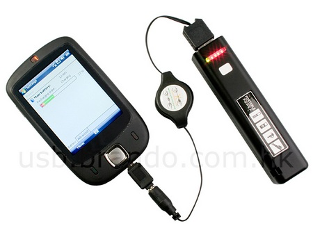 USB Rechargeable Torch Doubles as Mobile Charger