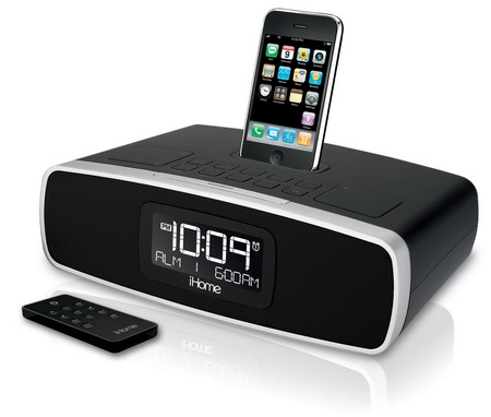 iHome iP42 Alarm Clock and iP90 Audio System for iPod iPhone