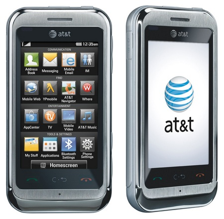 AT&T LG Arena touchscreen phone
