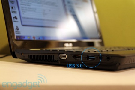 Asus N61 and N82 Notebook get USB 3.0 Port