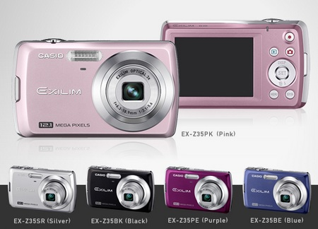 CASIO EXILIM EX-Z35 digital camera