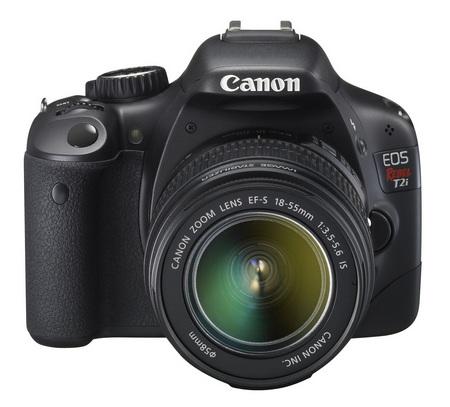 Canon EOS 550D DSLR Camera front