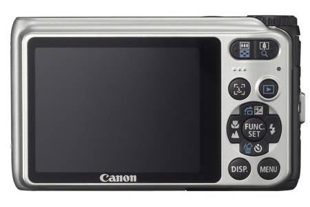 Canon PowerShot A3000 IS digital camera back