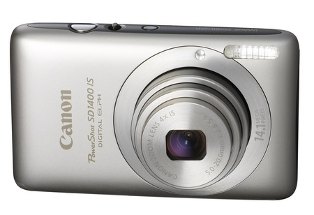 Canon PowerShot SD1400 IS digital camera silver