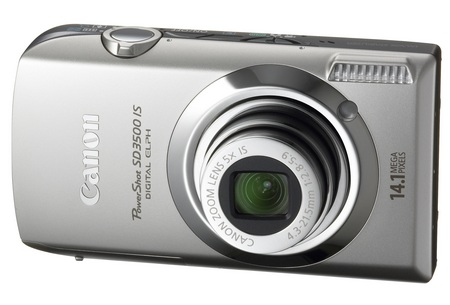Canon PowerShot SD3500 IS ELPH Digital Camera silver