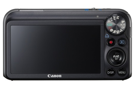 Canon PowerShot SX210 IS Digital Camera with 14x Zoom back